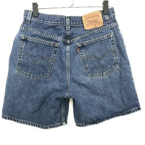 Levi's 951 High Waisted Denim Shorts Womens Sz 10